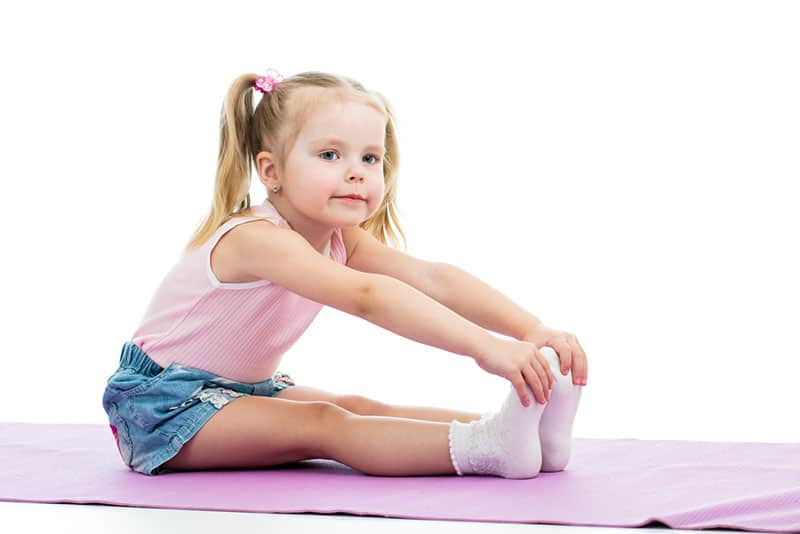 Physical activity, toddler doing sit up, Clancy Medical Group, Vista, CA