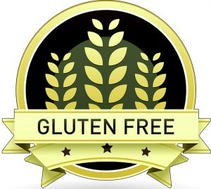 Gluten Free sign for food shoppers
