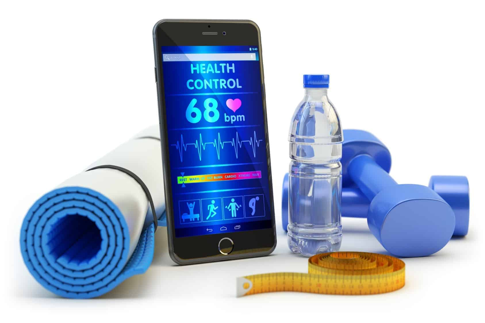 Demonstrate how fitness apps contribute to healthy lifestyle