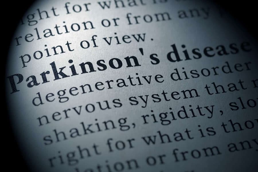 Parkinson's disease definition, Clancy Medical Group, Vista, CA