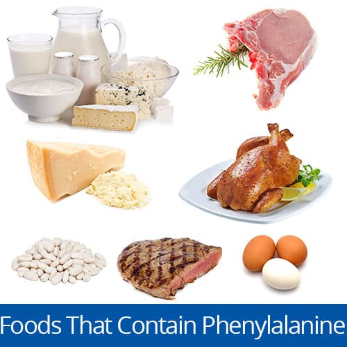 Foods with the amino acid Phenylalanine, Clancy Medical Group, Vista, CA