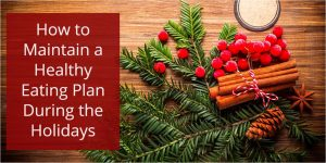 healthy eating plan during the holidays banner